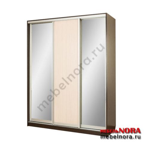 "Шкаф-купе ""Версаль-1"" 1,7 м с 2 зеркалами"